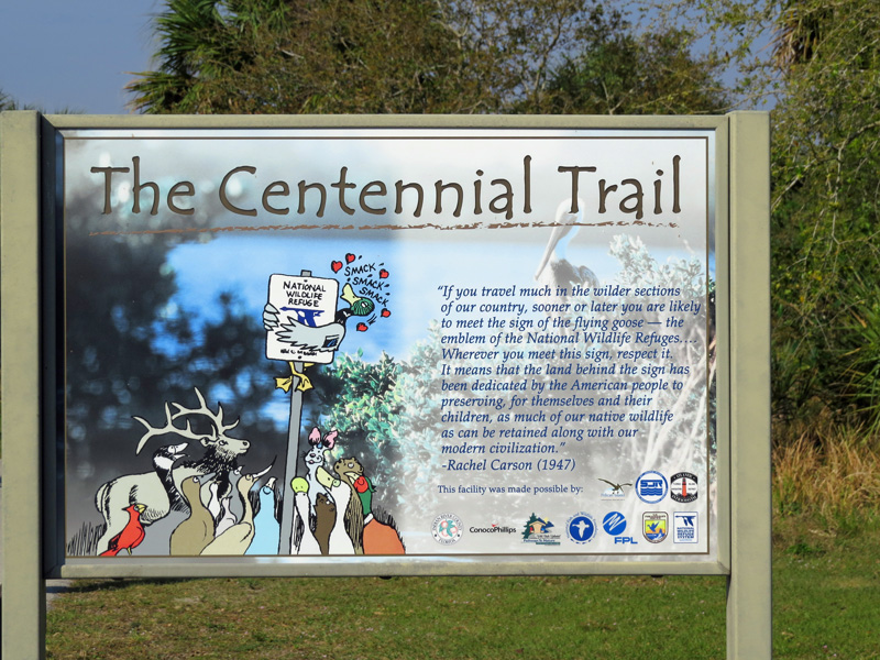 !!!!centennail-trail-sign